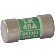 Lawson LK45A Fuse 45 amp Consumer Unit or Fusebox Fuse 45A BS1361